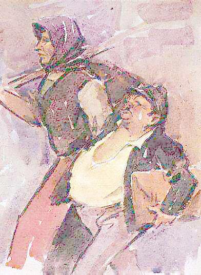"Чудомир, ""Двамата от ТКЗС-то"", 1963г."