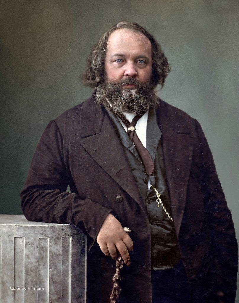Mikhail Bakunin, 1860